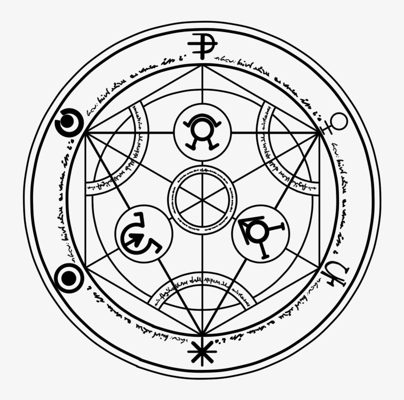Transmutation Circle Png.