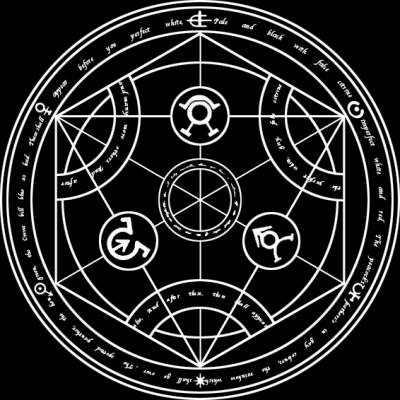 transmutation circle.
