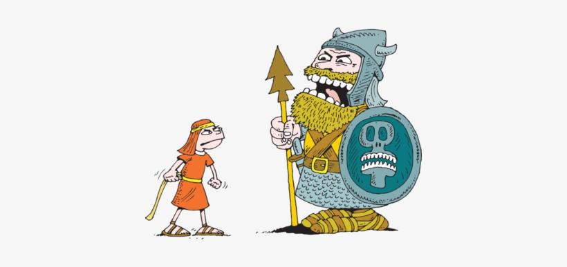 transparency clipart david and goliath #8