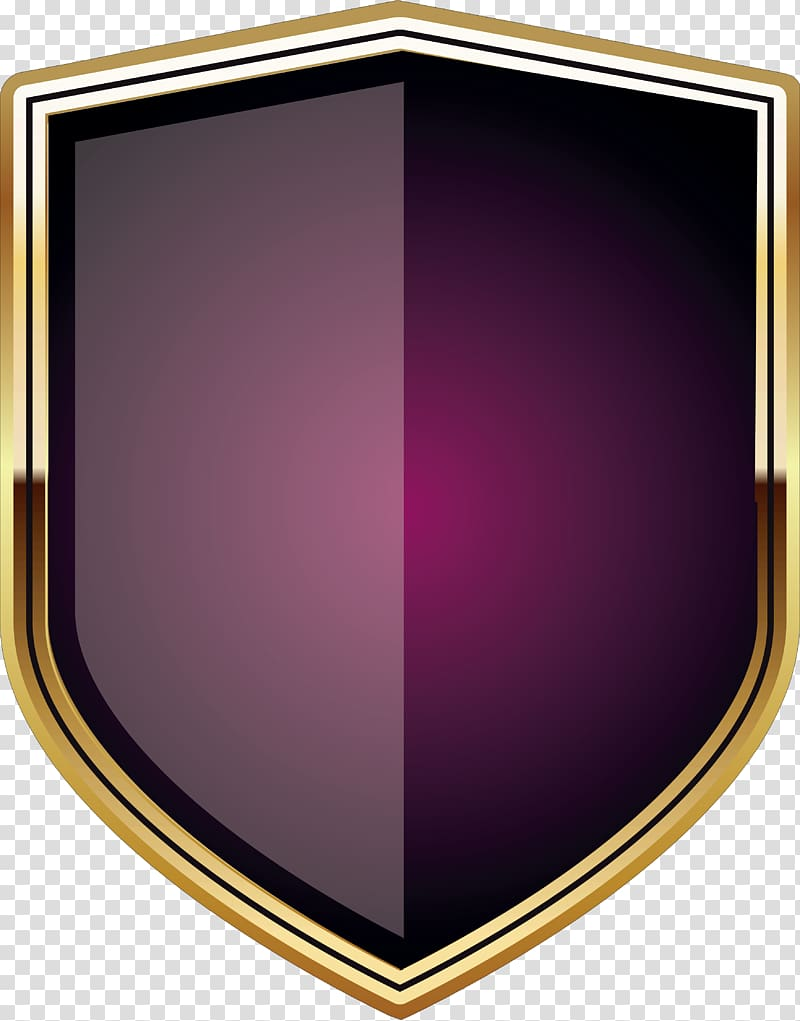 Purple and yellow logo, Shield Soldier, Soldier shield.