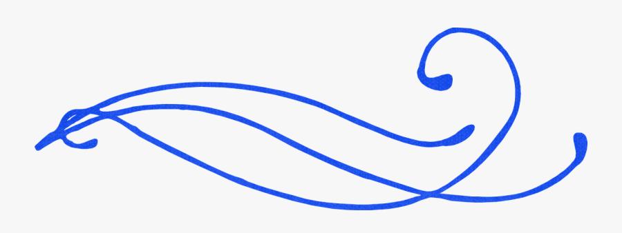 Swirl, Blue, Decoration, Border, Curly.