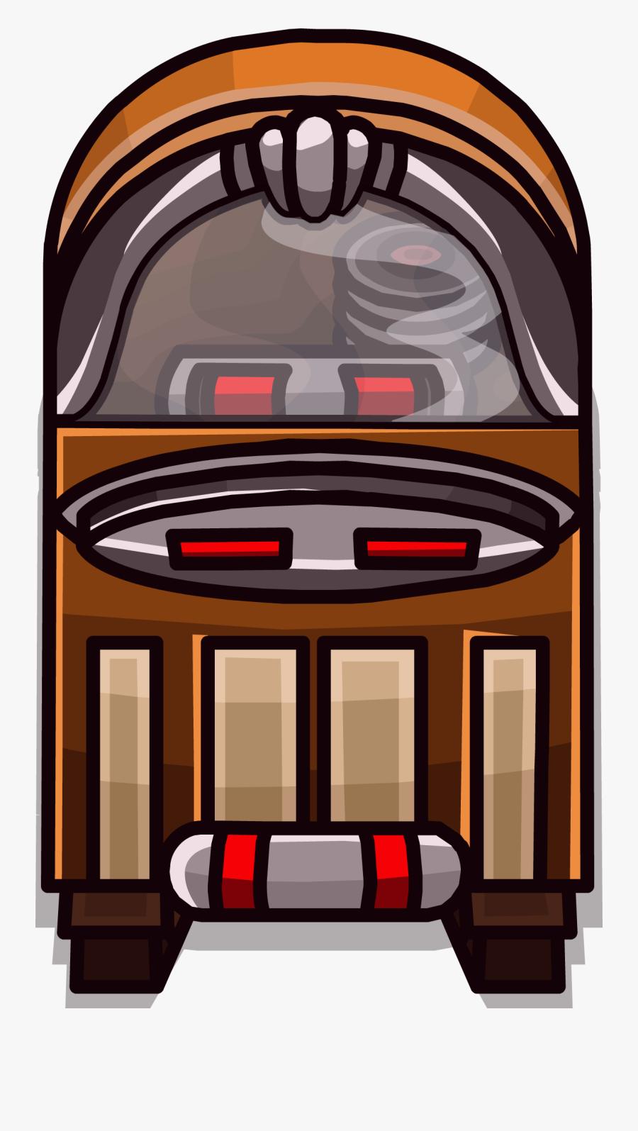Jukebox Clipart Retro.