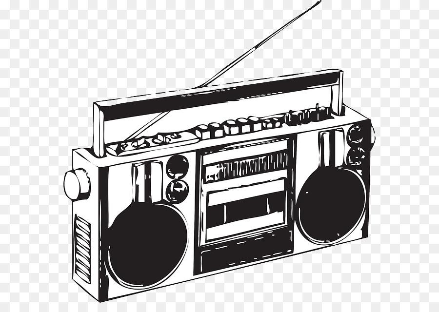 Radio Cartoon clipart.