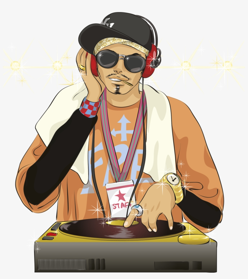 Vector Transparent Library Dj Transparent Hip Hop.