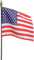 Free American Flag Clipart.