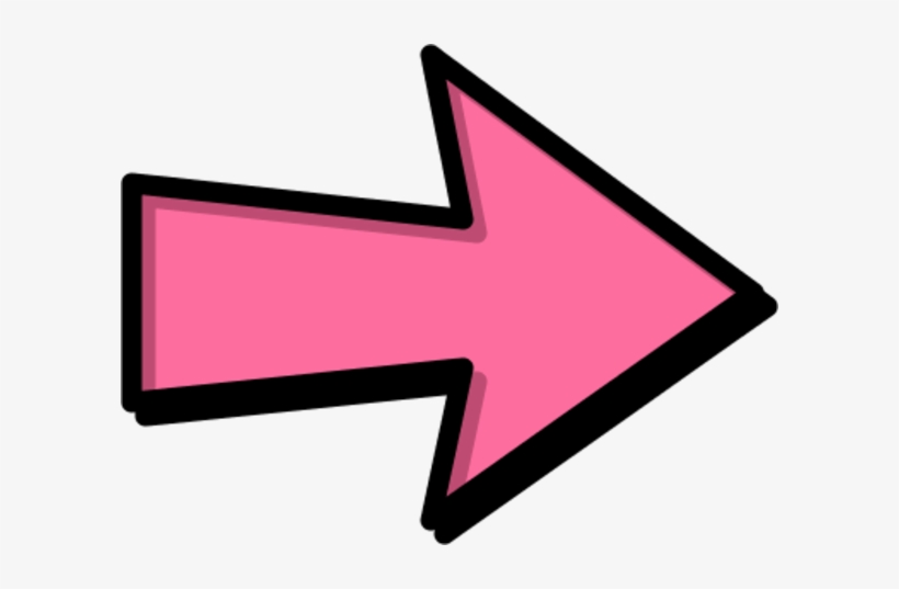Pink Arrow Png Picture Transparent.