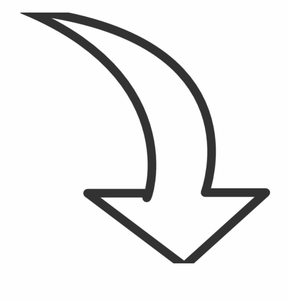 Arrow Transparent White.