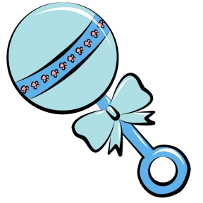Transparent Baby Rattle Clipart Clipground