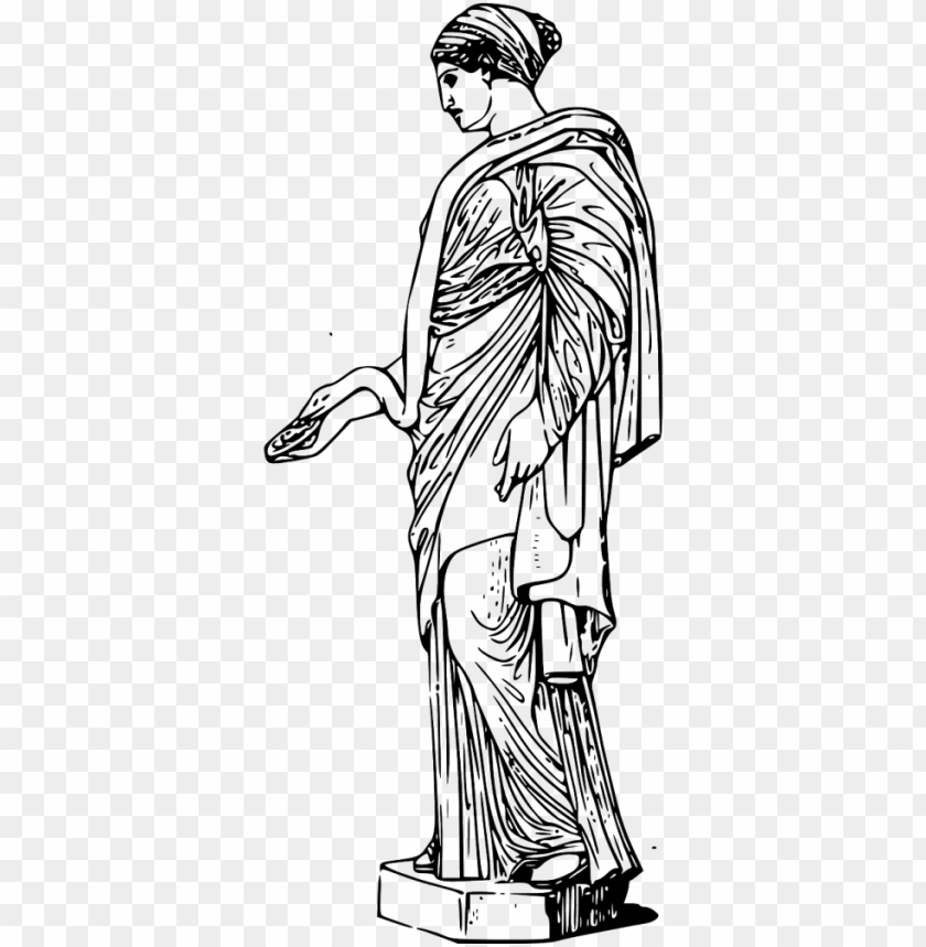 ancient greek sculpture clipart PNG image with transparent.