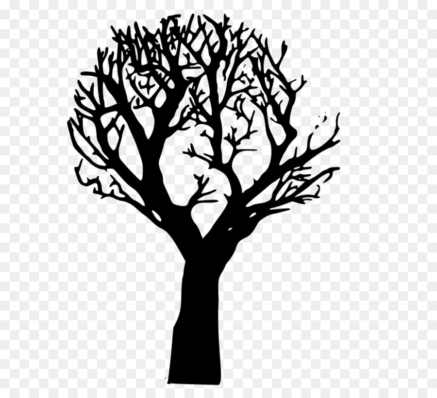 Halloween Tree Silhouette.