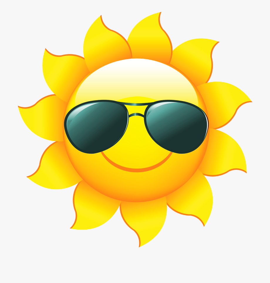 Sunshine Sun Clip Art With Transparent Background Free.