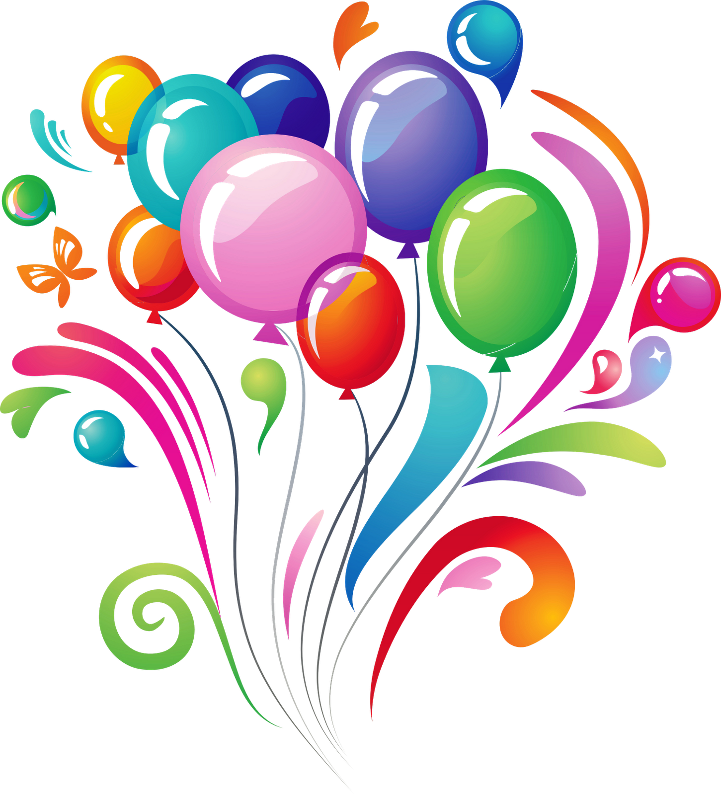 Download Happy Birthday Transparent Background For Designing.