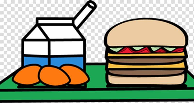 School meal Lunch Cafeteria, lunch transparent background.