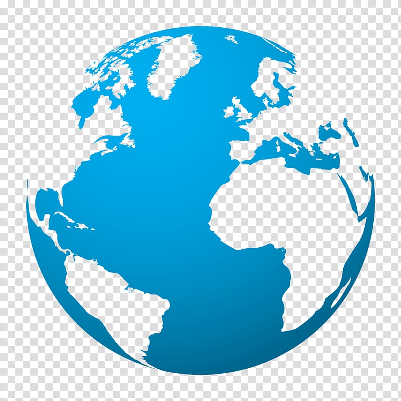 Earth , globe transparent background PNG clipart.