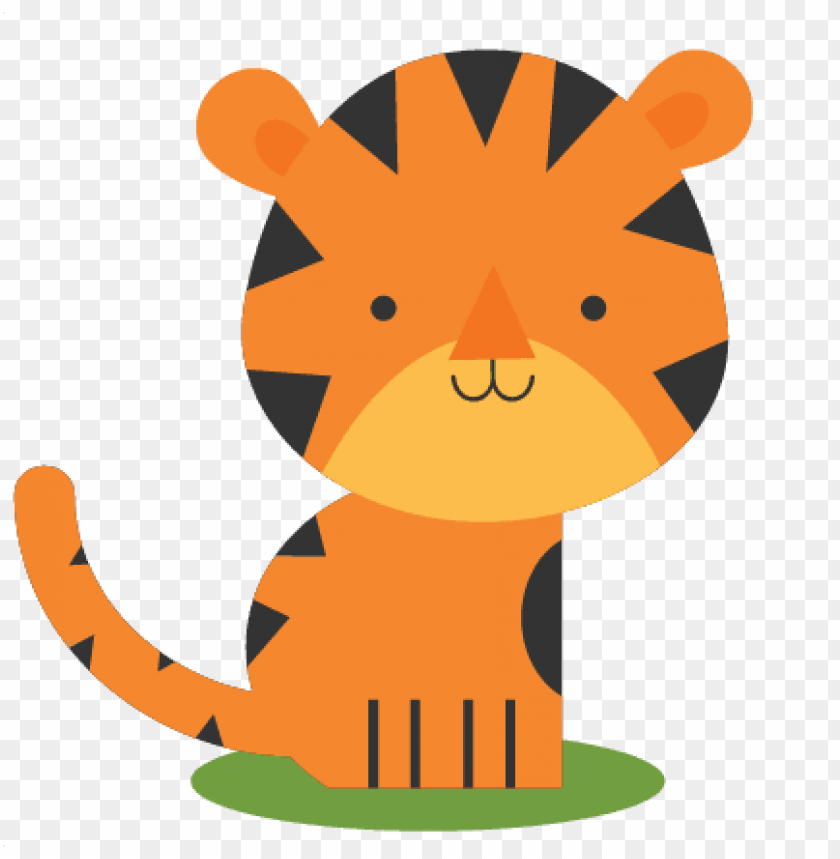 tiger cute PNG image with transparent background.