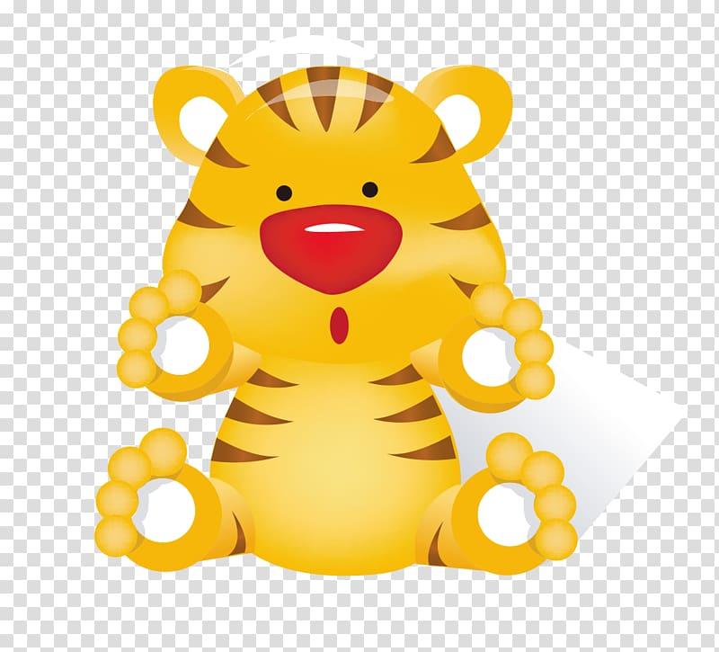 Baby Tigers Tigger Cartoon , Cute little tiger transparent.