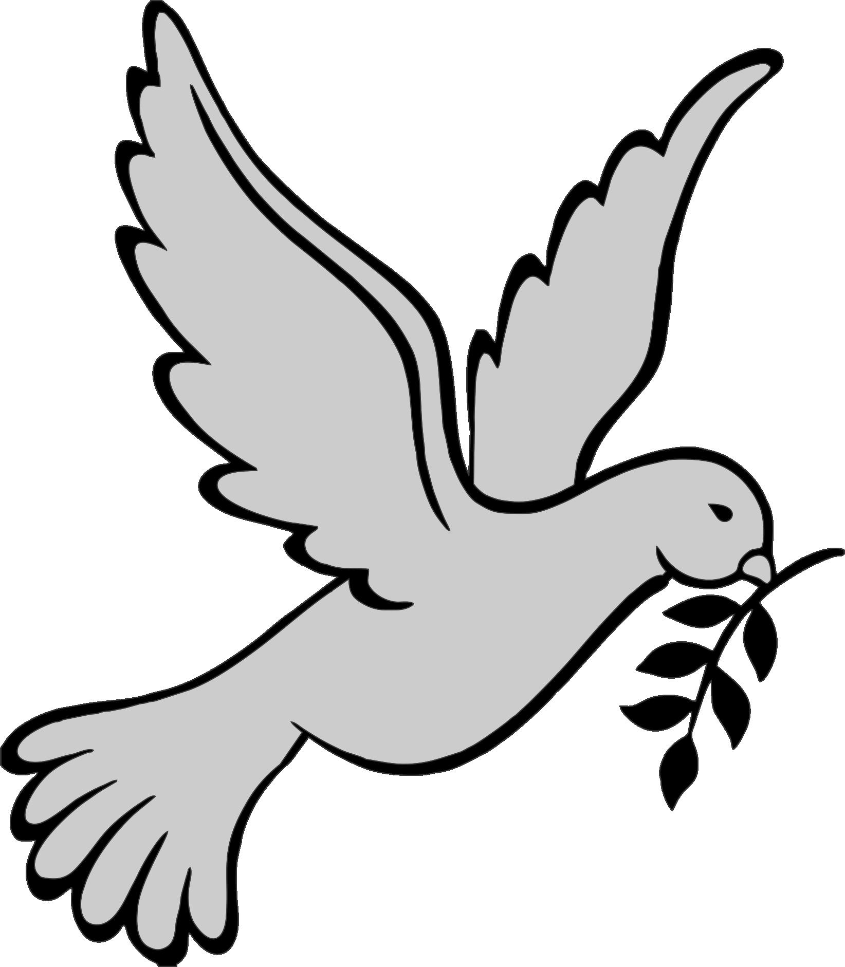 Dove Clipart Headstone.