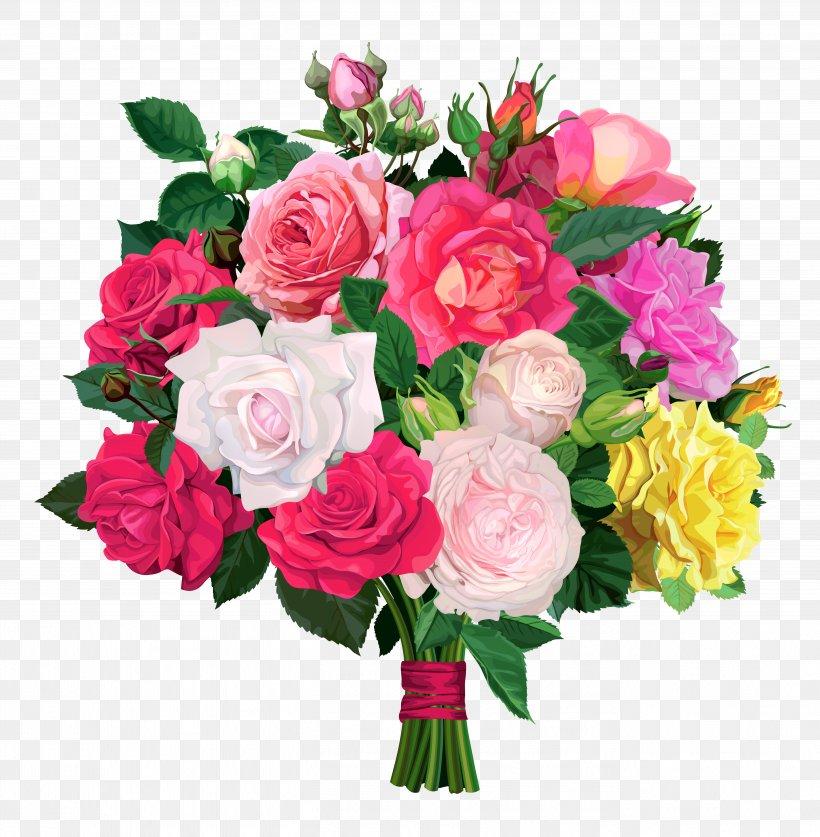 Flower Bouquet Rose Clip Art, PNG, 5411x5529px, Flower.