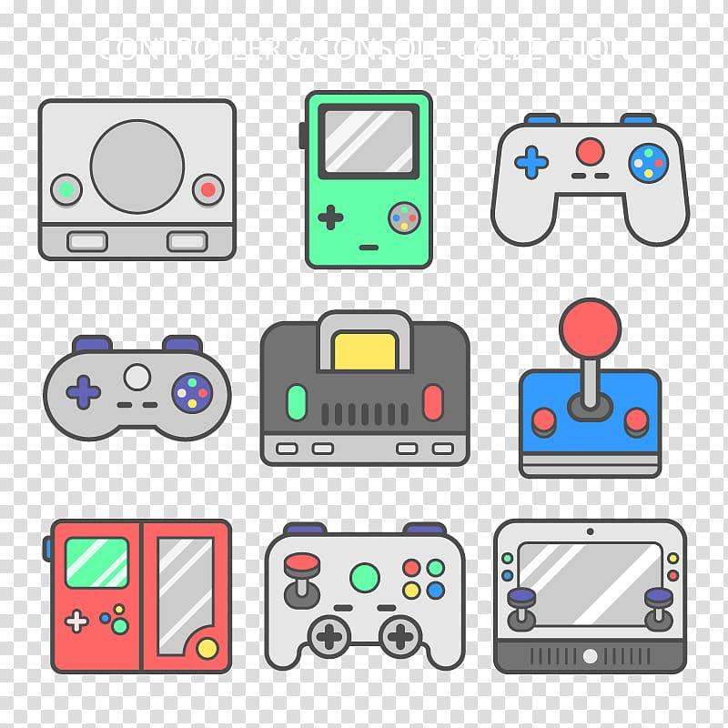 Joystick Game controller Video game Icon, gamepad.