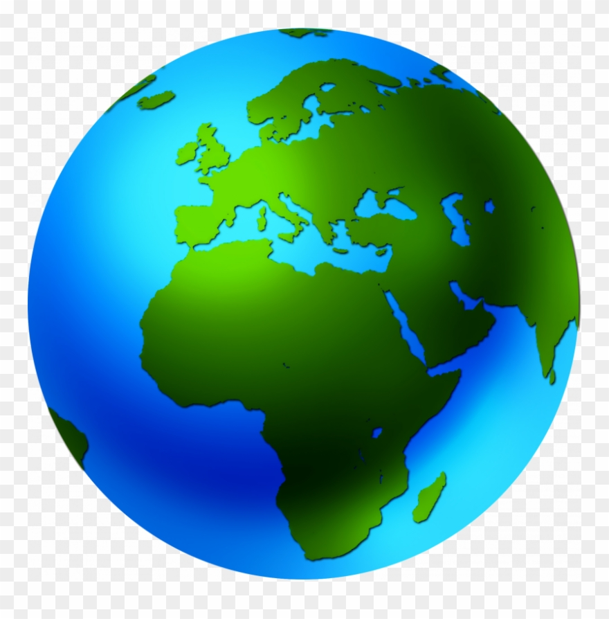 Transparent Background Earth Clipart.