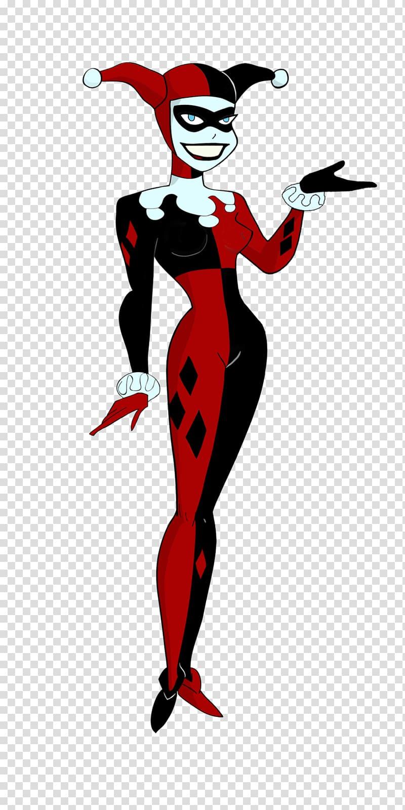 Harley Quinn Batman Joker Comic book DC animated universe.