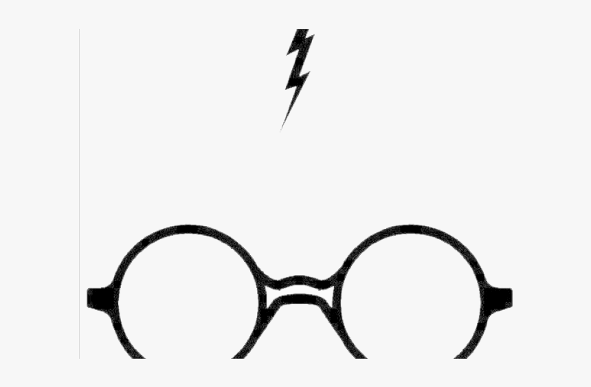Harry Potter Glasses Clipart Transparent Background.