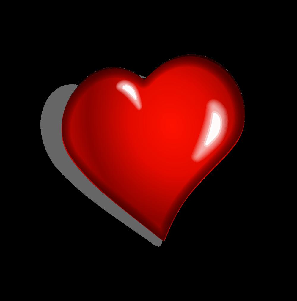 Heart Clipart Side transparent PNG.