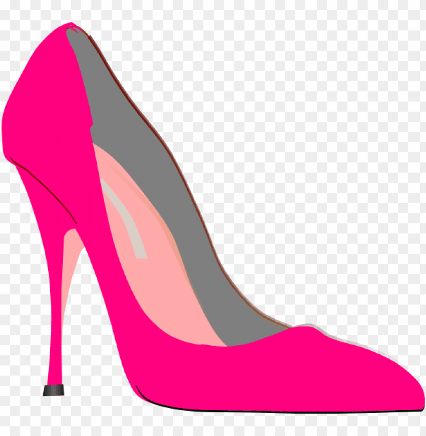 ink high heel shoes clipart.