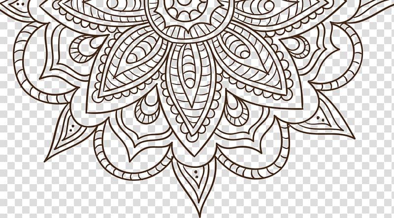 Mandala Coloring book Drawing Meditation Adult, others.