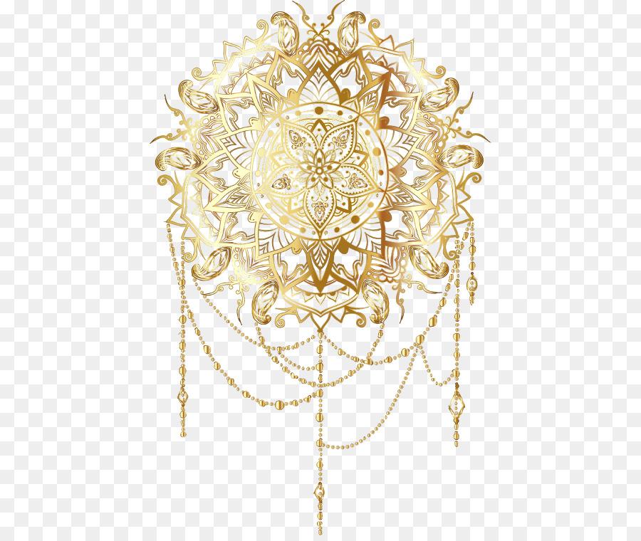 Gold Ornament.