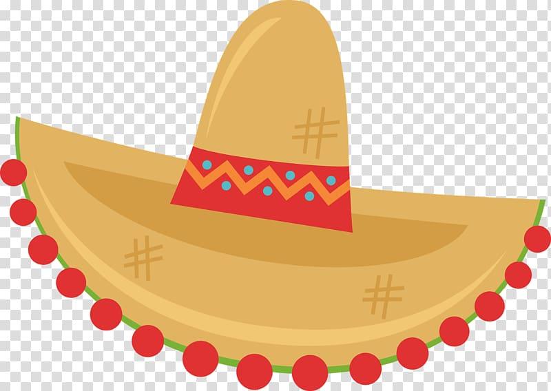 Sombrero Desktop Hat , mexican transparent background PNG.