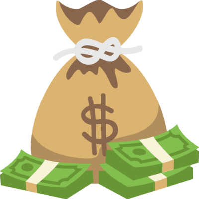 Download MONEY BAG Free PNG transparent image and clipart.