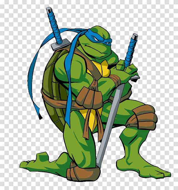 Leonardo Raphael Michaelangelo Donatello Splinter, Teenage.
