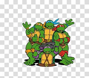 Teenage Mutant Ninja Turtles 2 transparent background PNG.