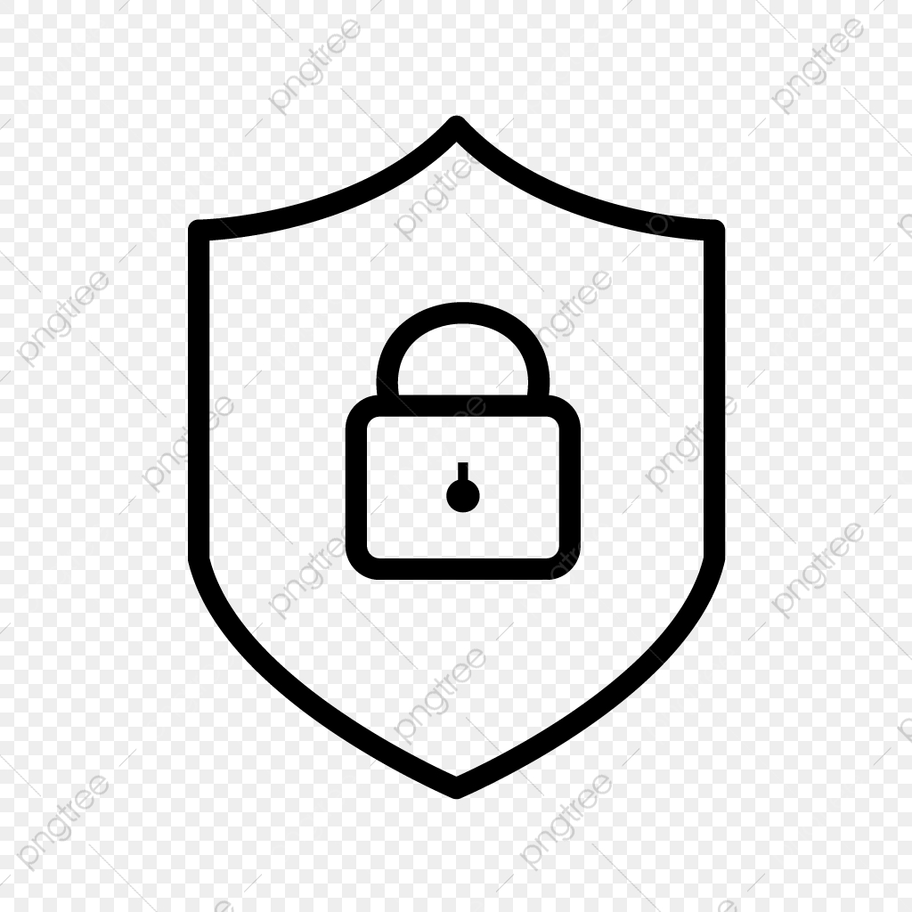 Vector Online Protection Icon, Protection, Shield, Security.