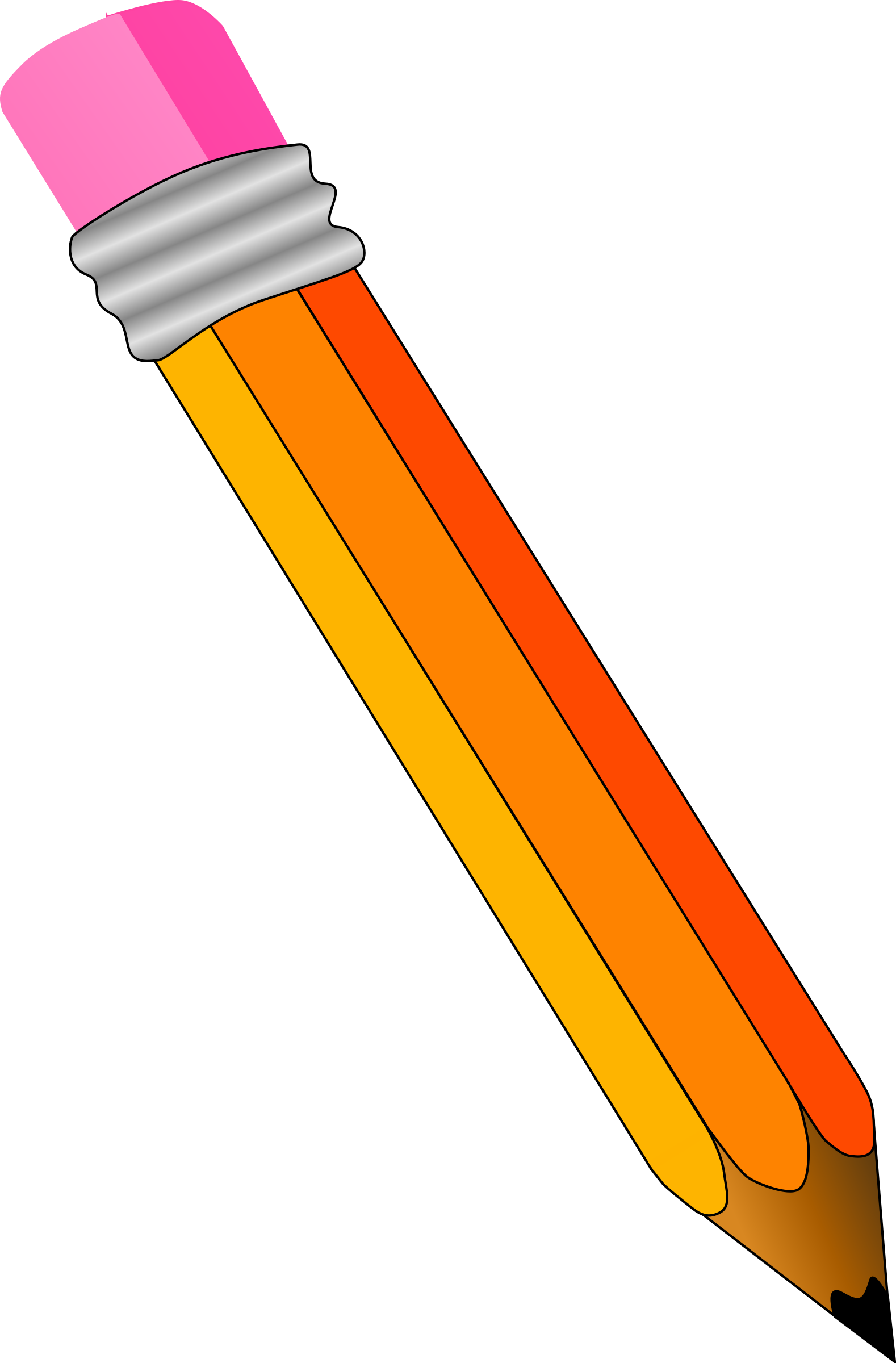 Colored pencil Clip art.