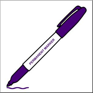 Marker clipart permanent marker, Marker permanent marker.