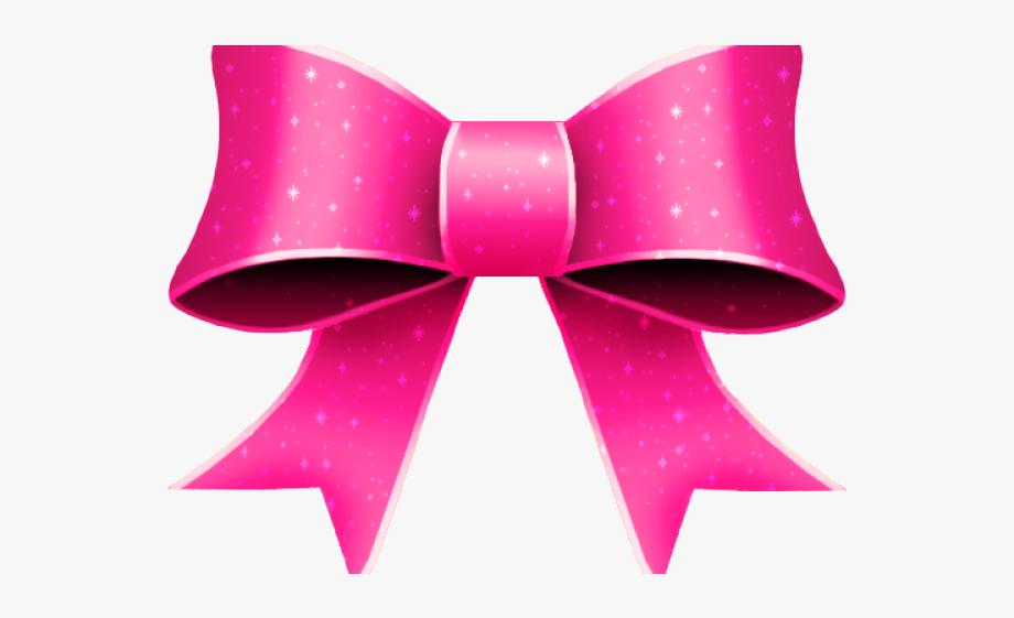 Pink Ribbon Clip Art Bow Tie.