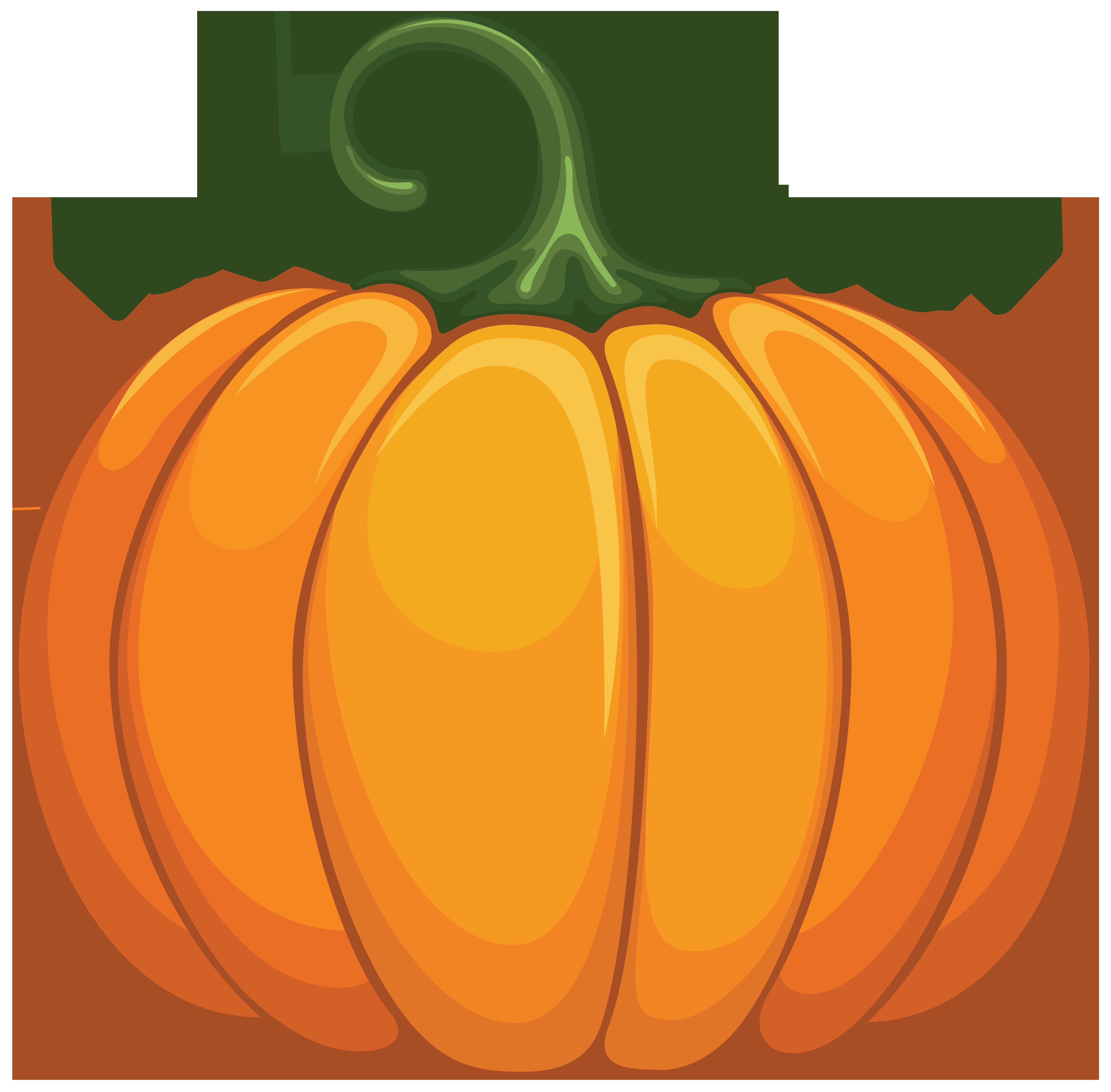 Transparent Pumpkin Clipart.