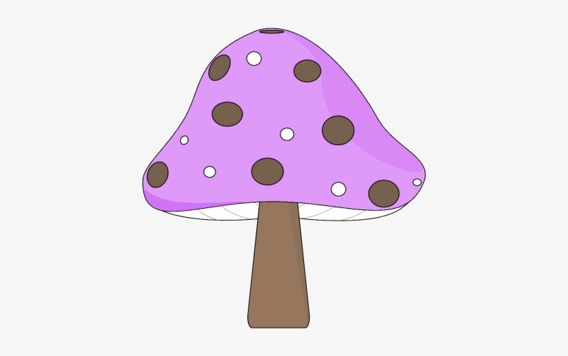Mushroom Clipart Purple Mushroom.