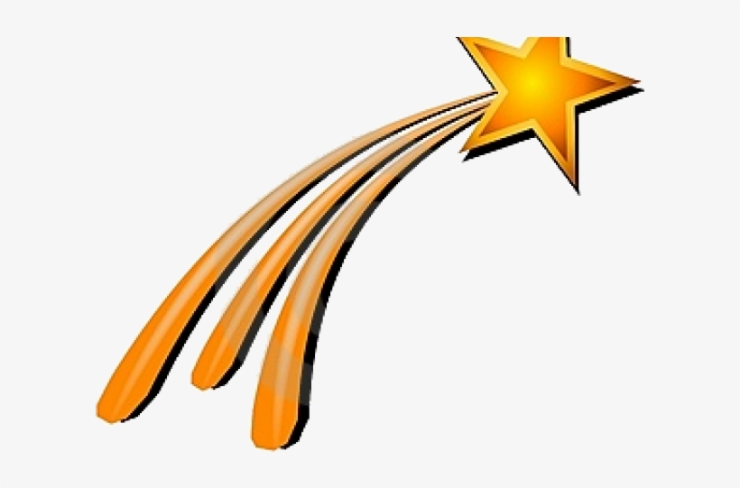 Shooting Star Clipart Transparent Background.