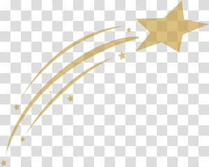 Shooting Star transparent background PNG cliparts free.