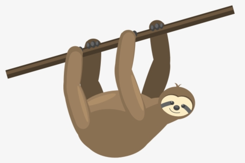 Free Sloth Clip Art with No Background.