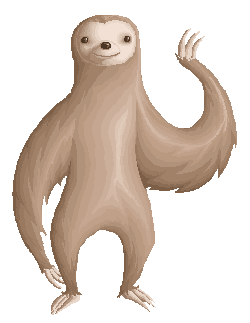 Free Sloth Transparent, Download Free Clip Art, Free Clip.