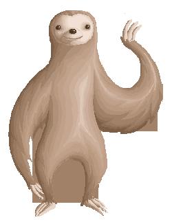 Free Sloth Transparent, Download Free Clip Art, Free Clip.