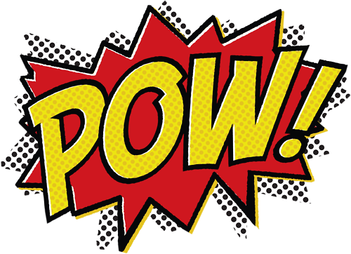 Pow I\'m a super hero!.