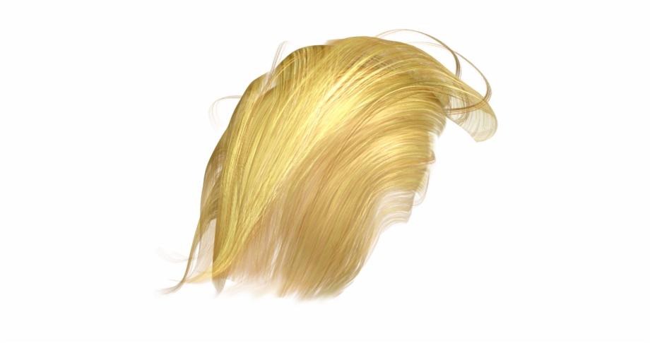 Trump Hair Transparent Png Blond.