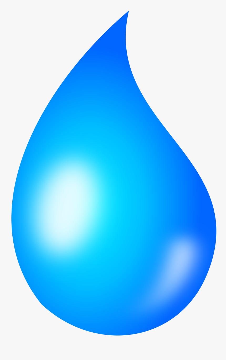 Water Drop Clipart Rain Droplet Transparent Background.