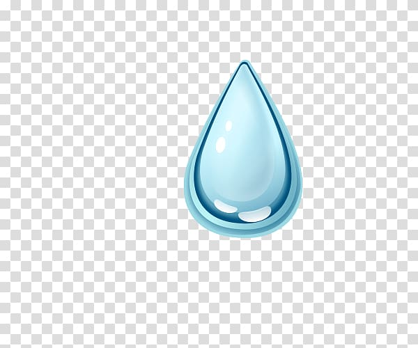 Blue water droplet digital illustration, Water Circle Icon.