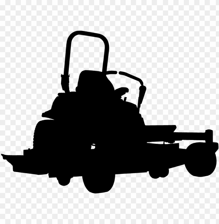 lawn mower clipart outline.